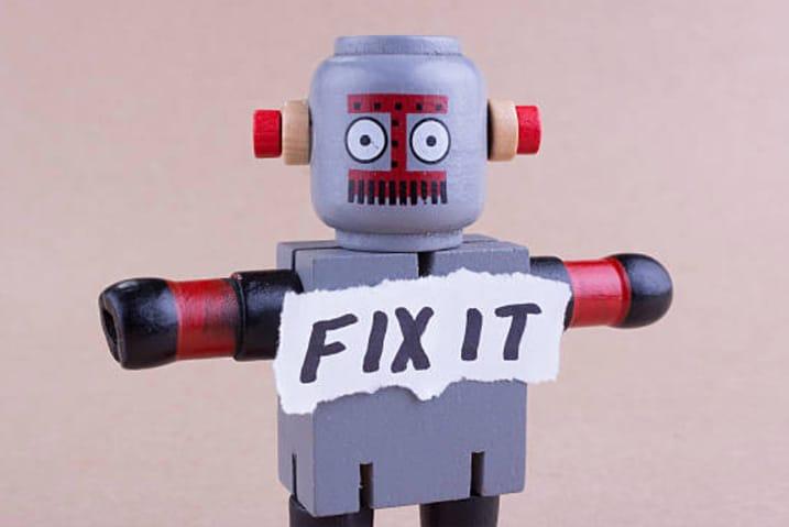 Ad hoc website maintenance